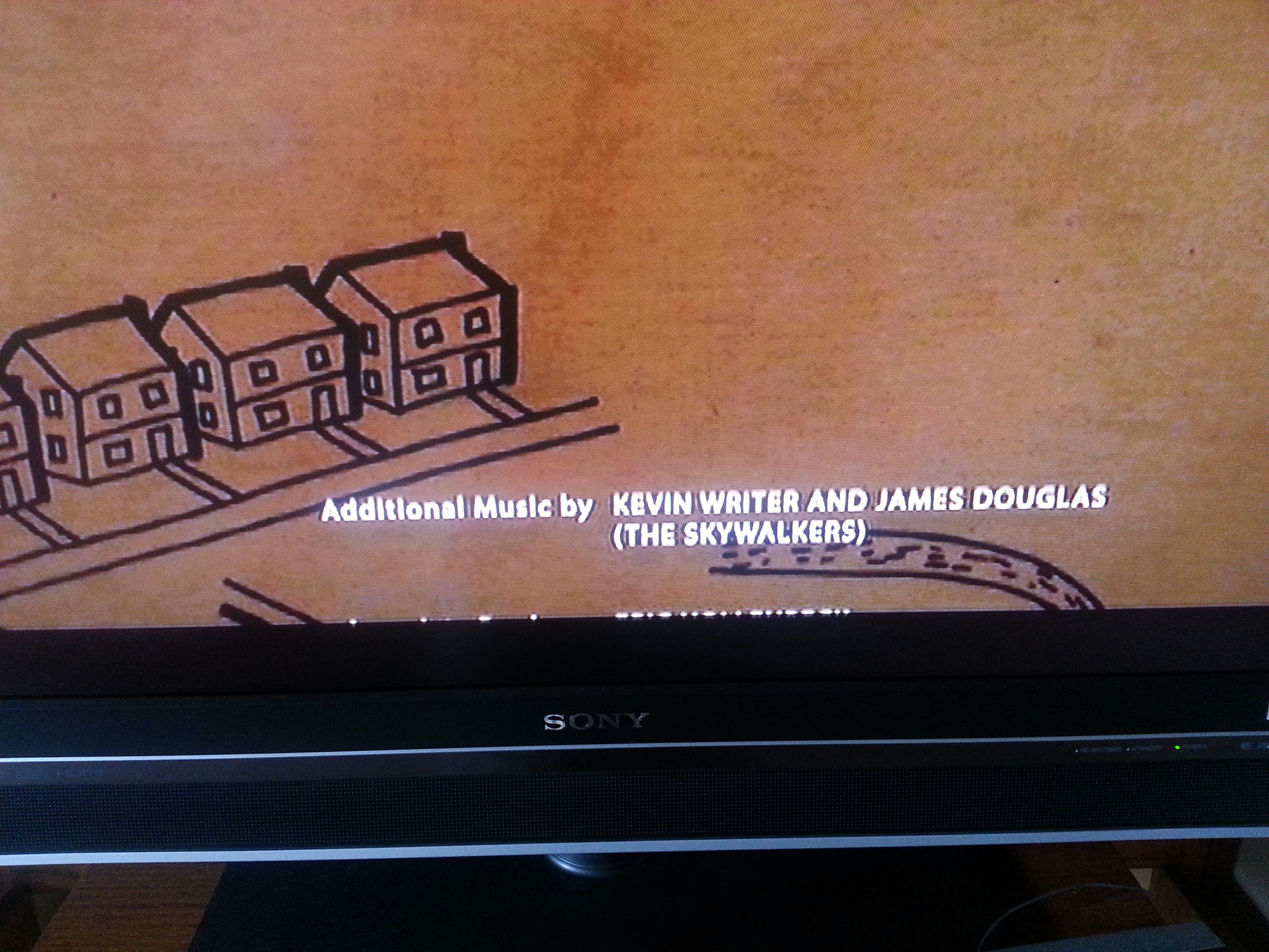 Screenshot from The Kings of Summer credits- Kevin Writer and Douglas James (The Skywalkers)