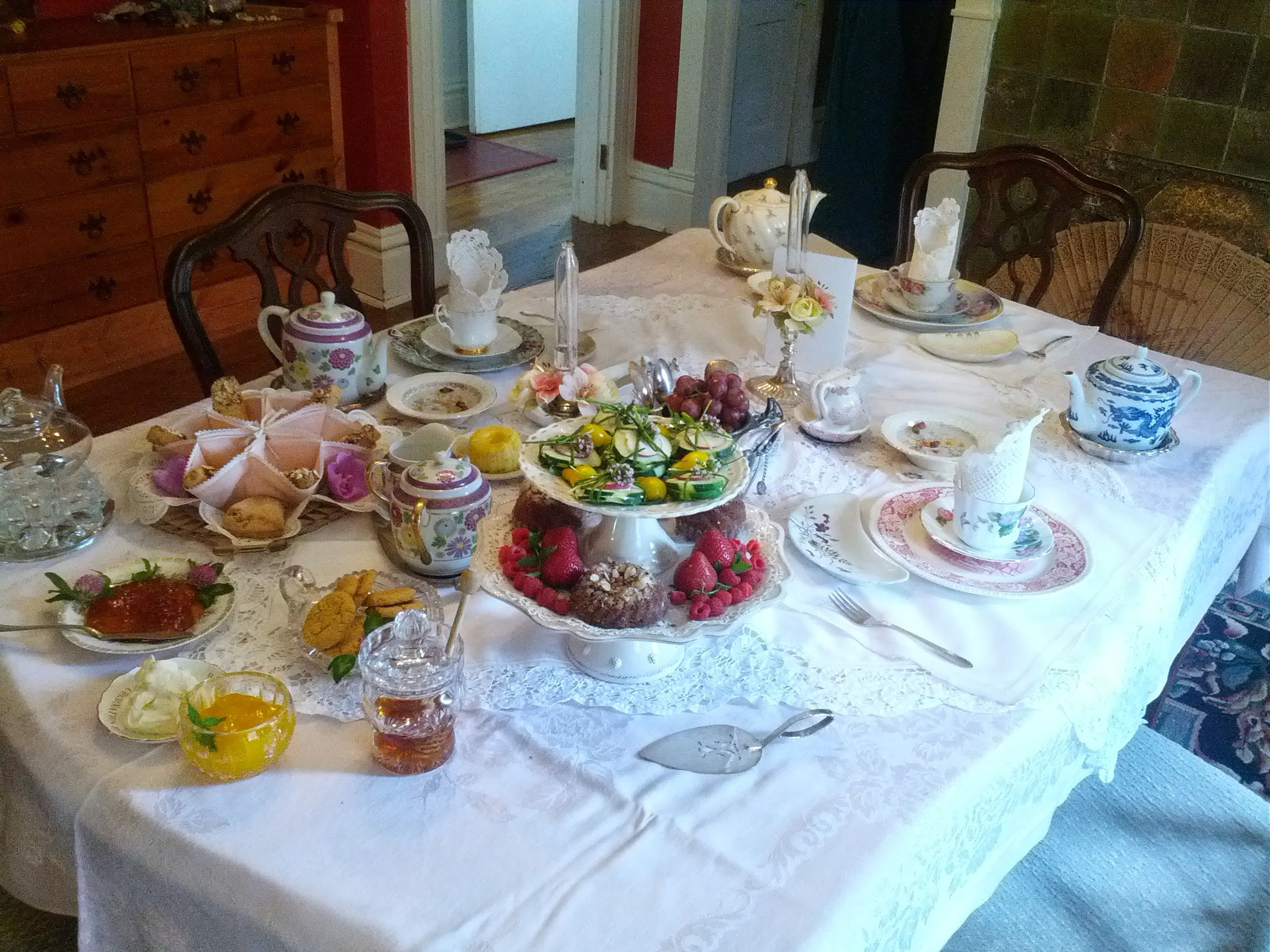 Tea is a tradition for my mother and me