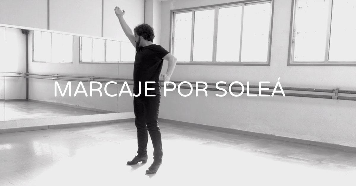 Marcaje por solea - basic marking step for solea | flamencobites.com