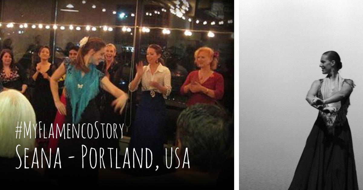 #MyFlamencoStory - Seana from Portland, USA  flamencobites.com