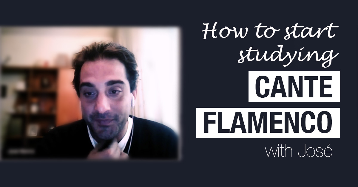 How to start studying cante flamenco - a short lesson for flamenco dance students | www.flamencobites.com