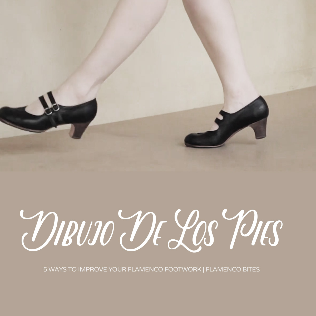 Think about the picture of your feet (dibujo de los pies) when practicing flamenco footwork   www.flamencobites.com