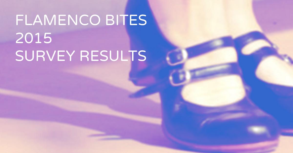 Flamenco Bites 2015 survey results