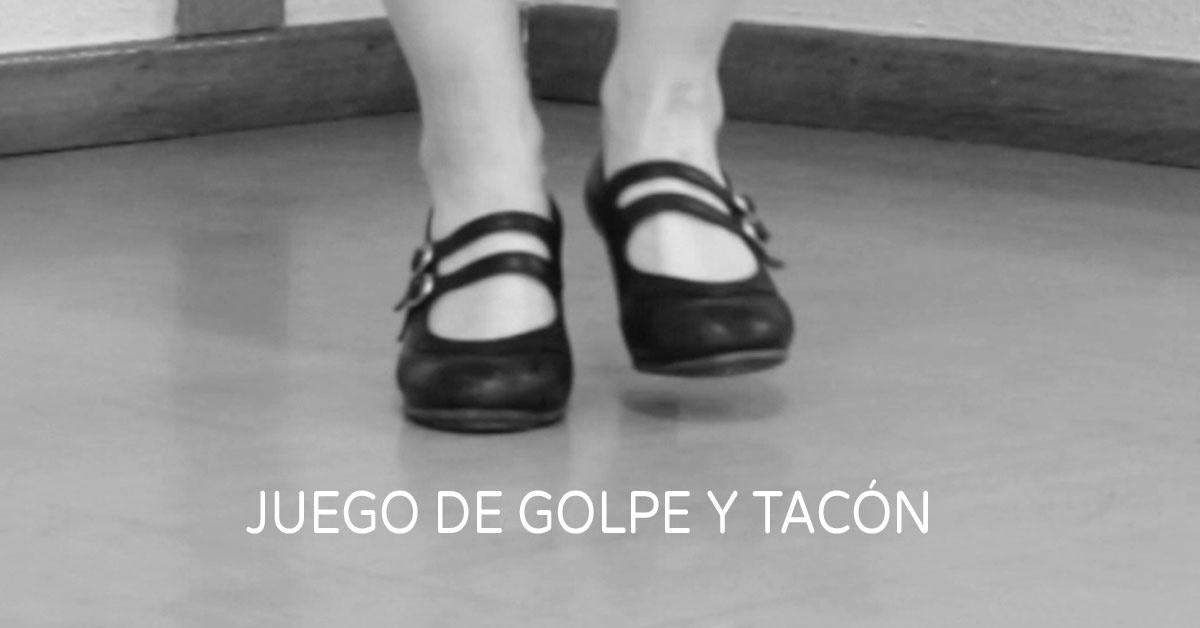 Flamenco footwork technique {Juego de golpe y tacon} | www.flamencobites.com