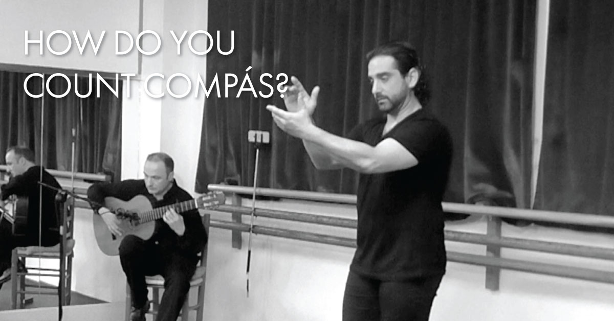 How do you count compás? | www.flamencobites.com
