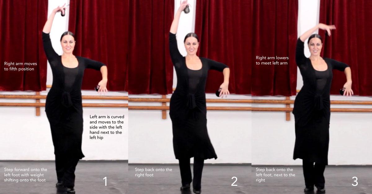 Ejercicio de Danza Española #2 - 2