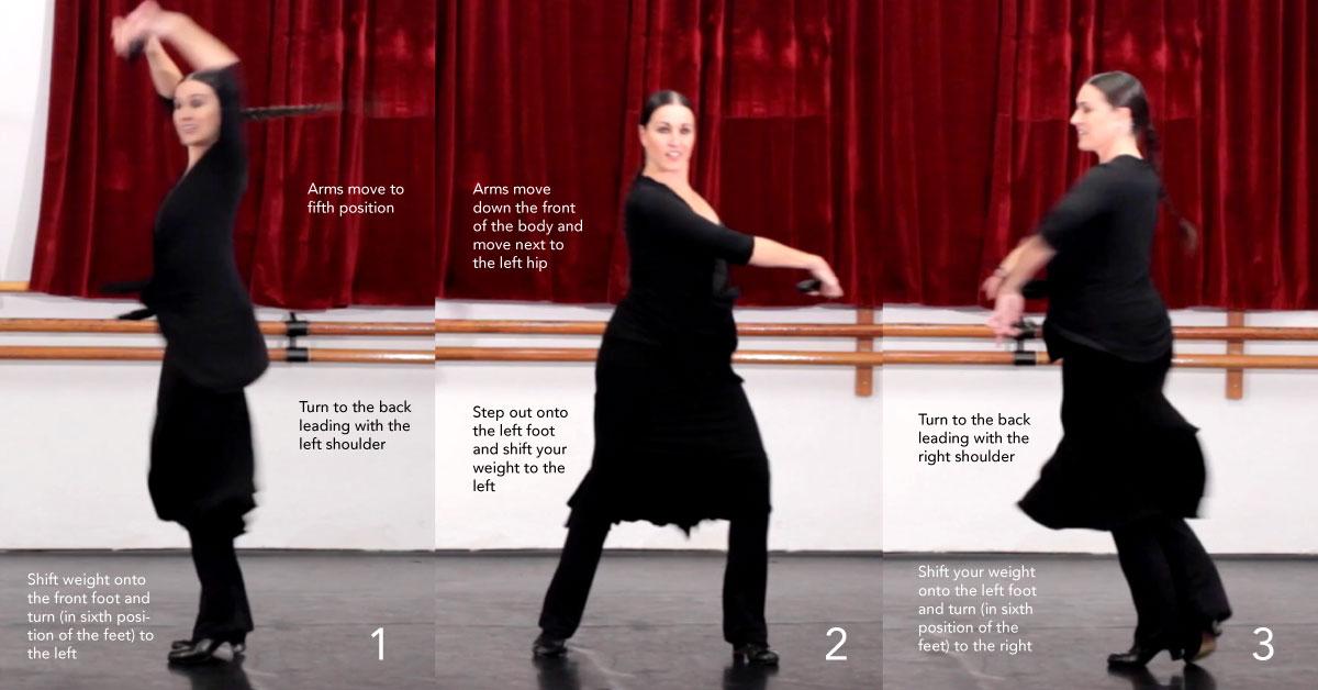 Ejercicio de Danza Española #2 - 4