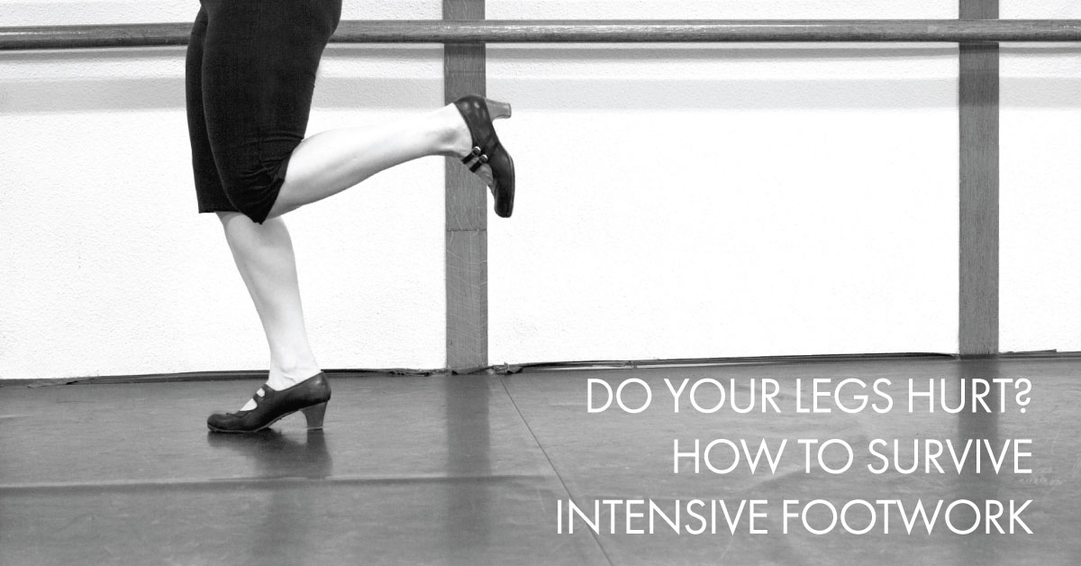 How to survive intensive flamenco footwork | www.flamencobites.com