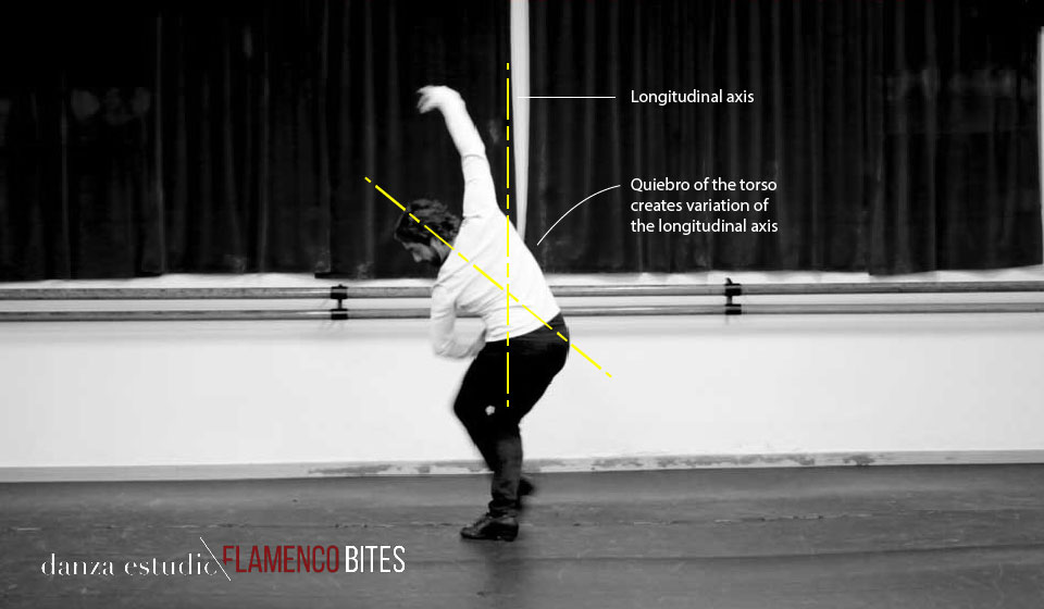 This image is taken from our course  'Vueltas Flamencas'  available to all members of   danza estudio Flamenco Bites