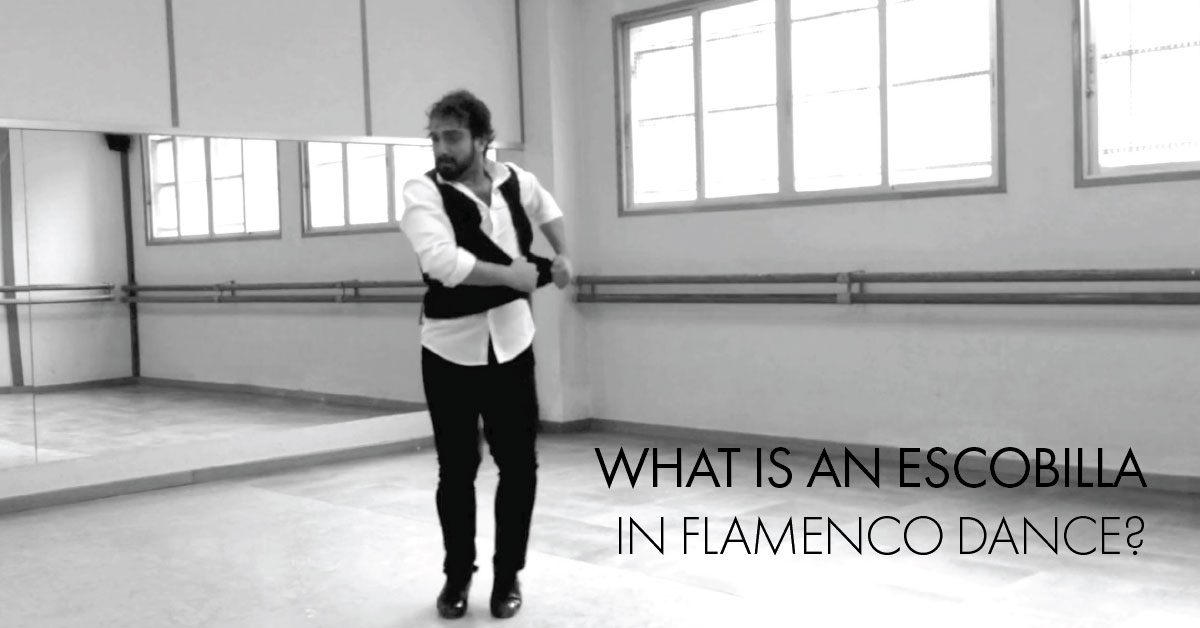 What is an escobilla is flamenco dance? | www.flamencobites.com