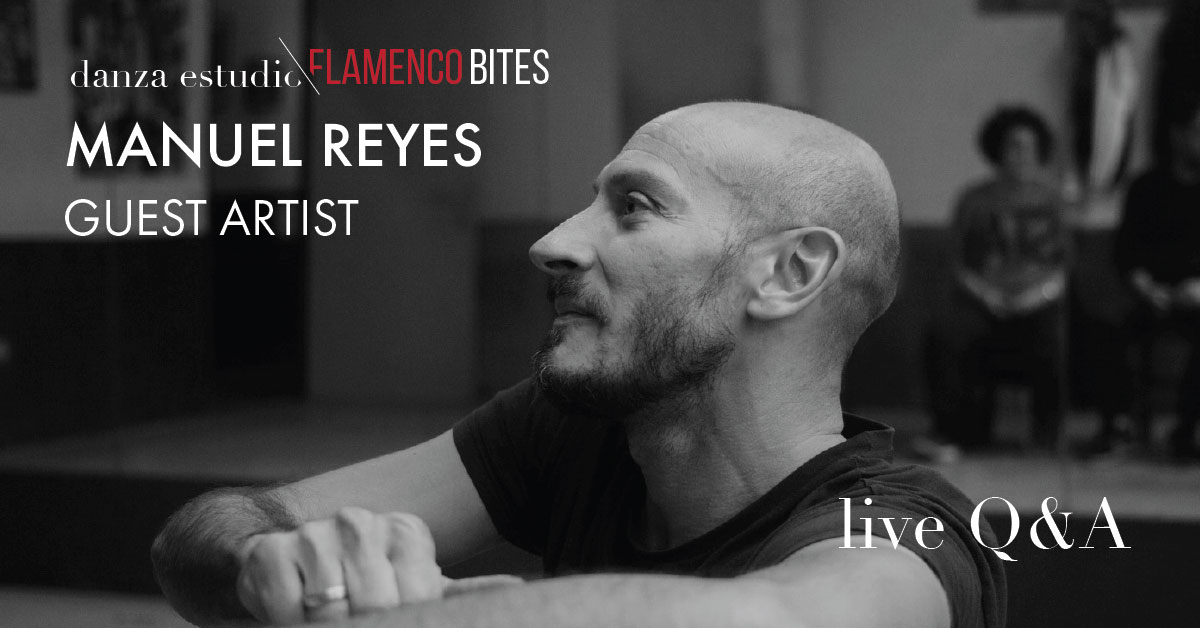 Live members Q&A with guest artist Manuel Reyes