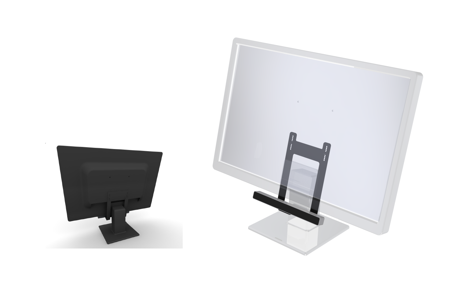 BRACKET #01-01: For monitors with VESA 100