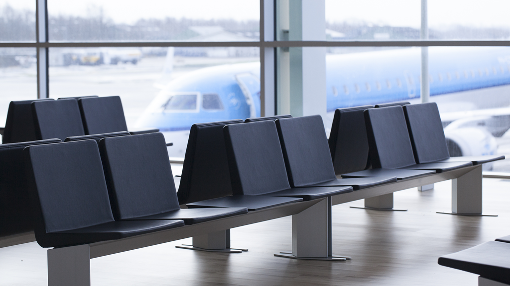 Aalborg Airport has installed more than 800 seats in total.
