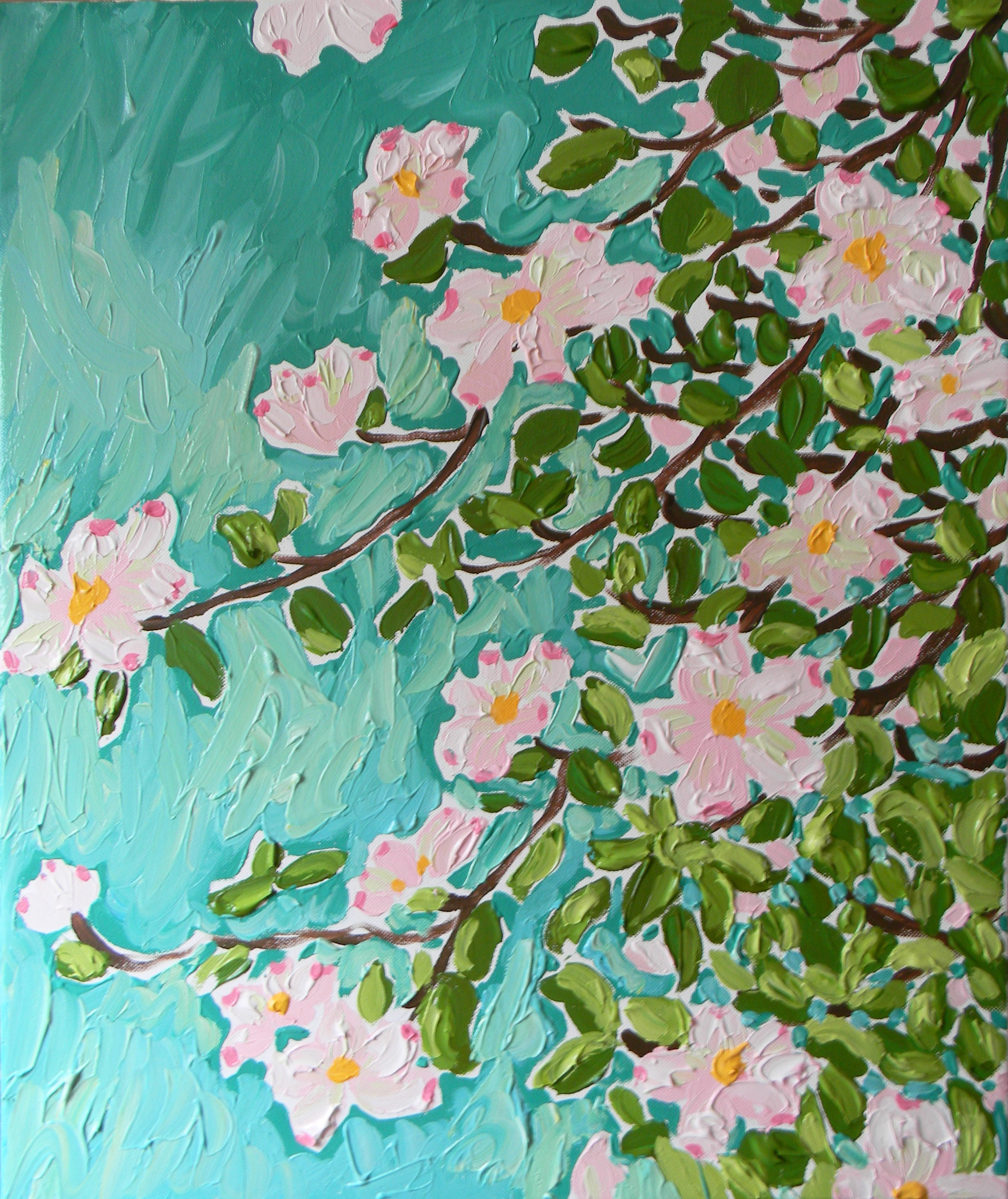 Lilly Pulitzer Charlotte Store Anniversary Painting