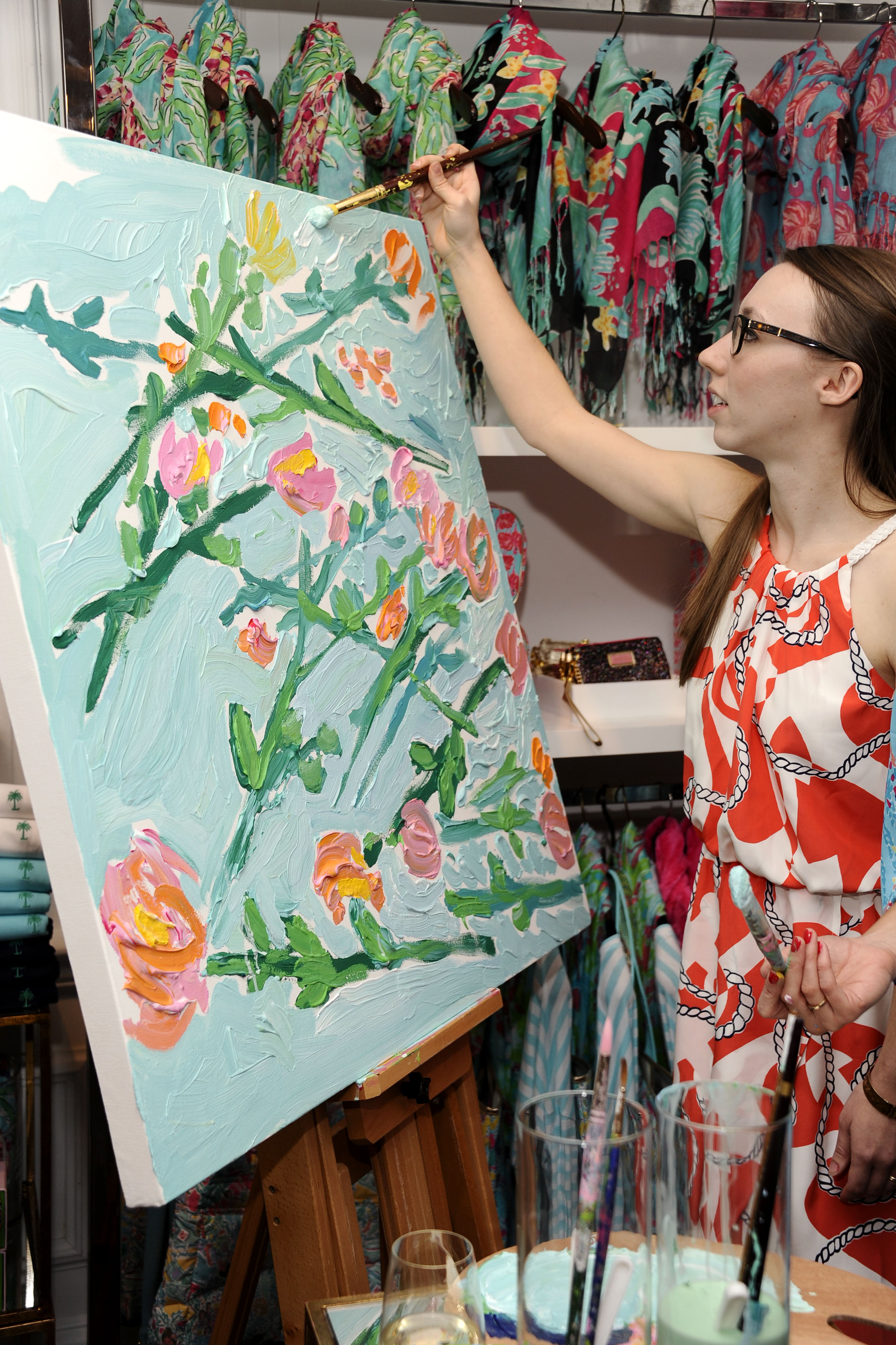 Lilly Pulitzer Summer 13 Press Preview Party