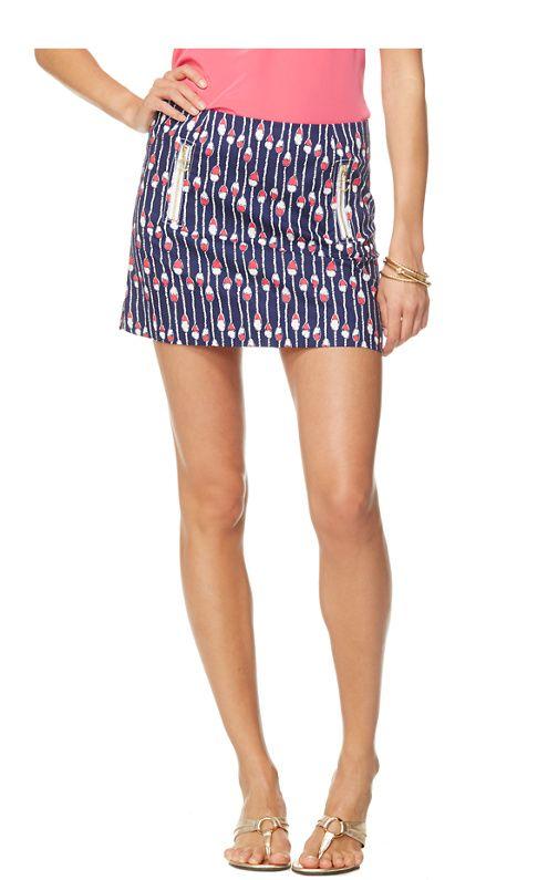 Swim Lanes Stripe on the Tate Skirt