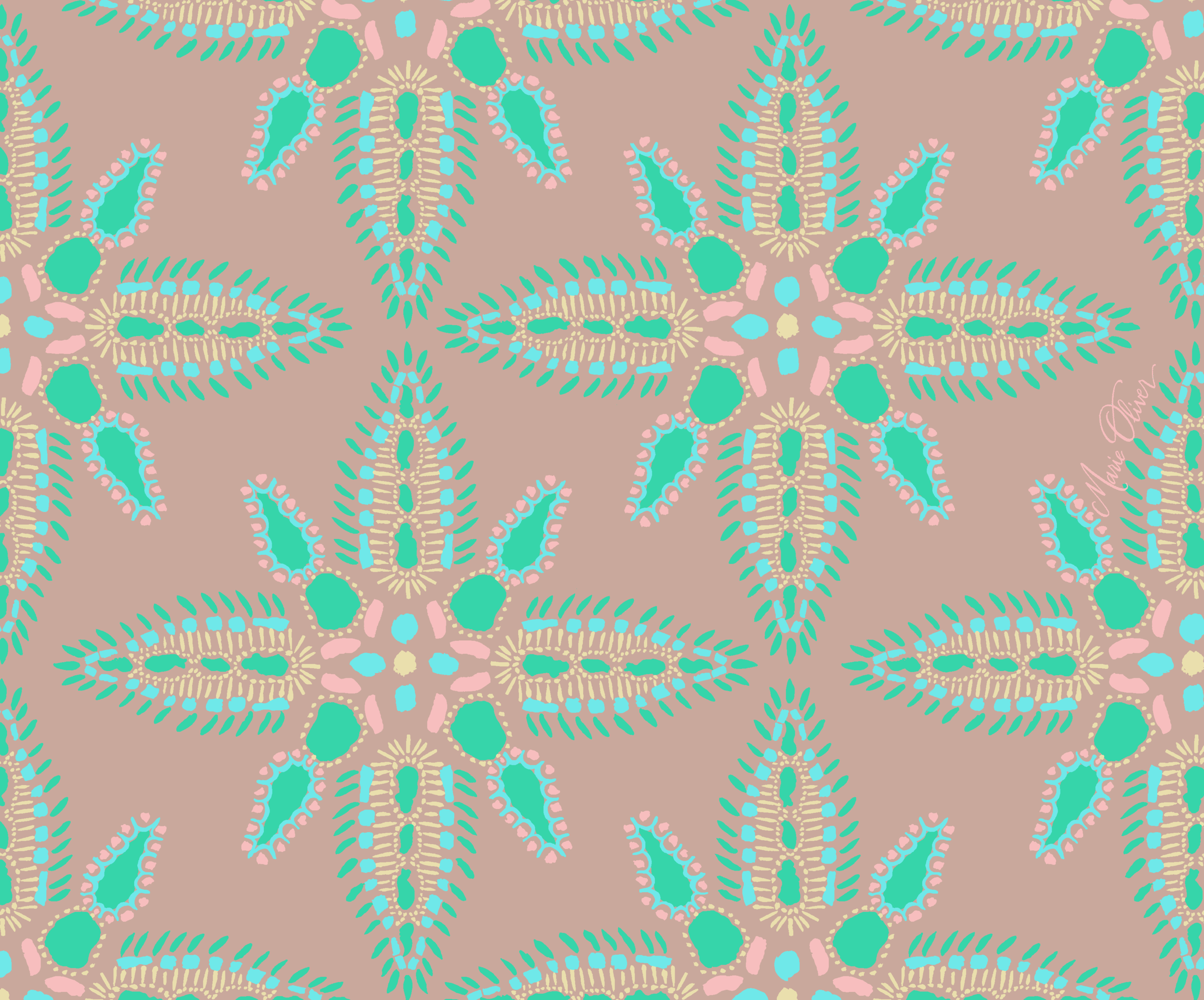 Marie Oliver SS15 : Kaleidoscope