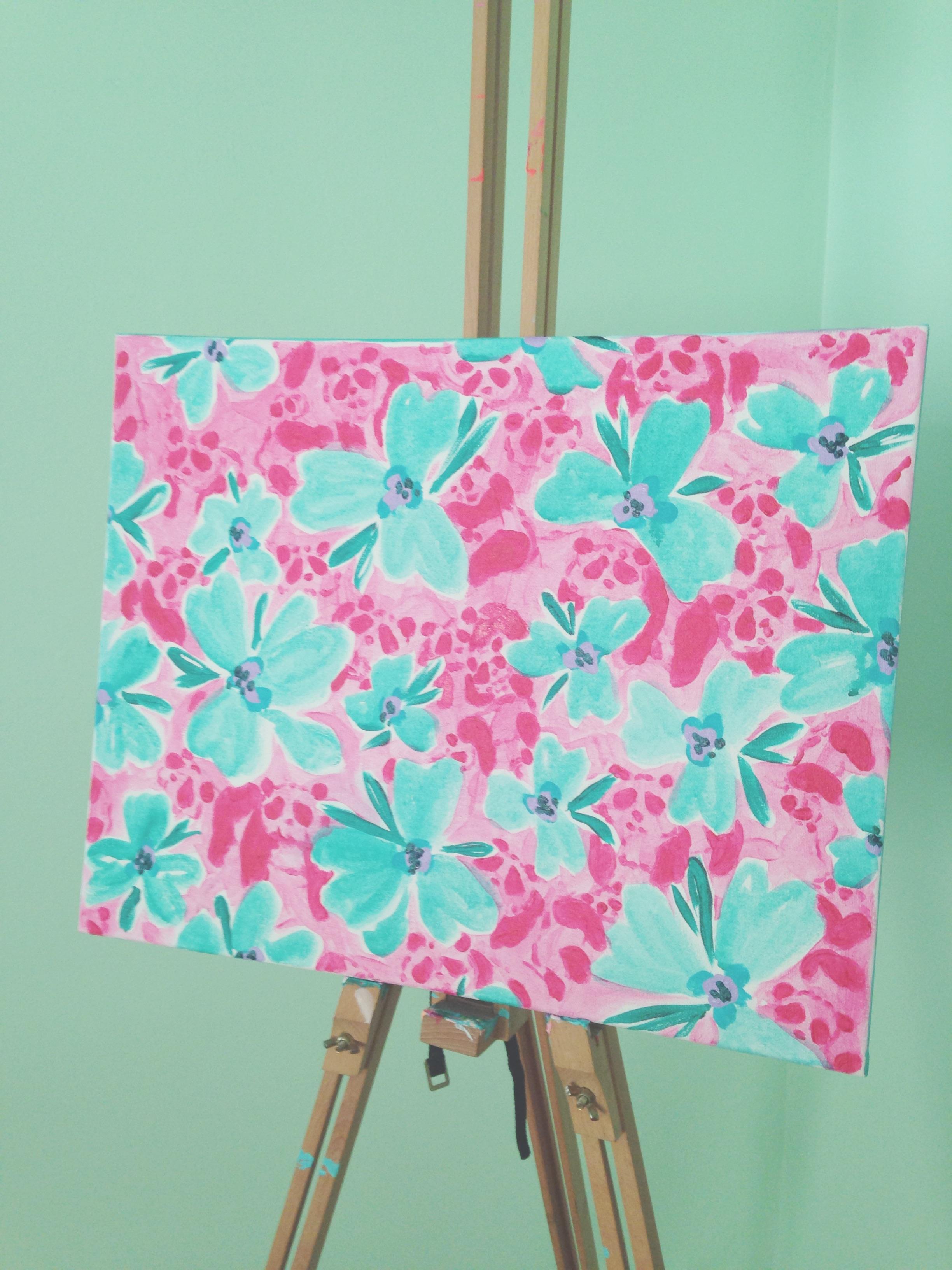"Custom Canvas Pattern - 16""x20"""