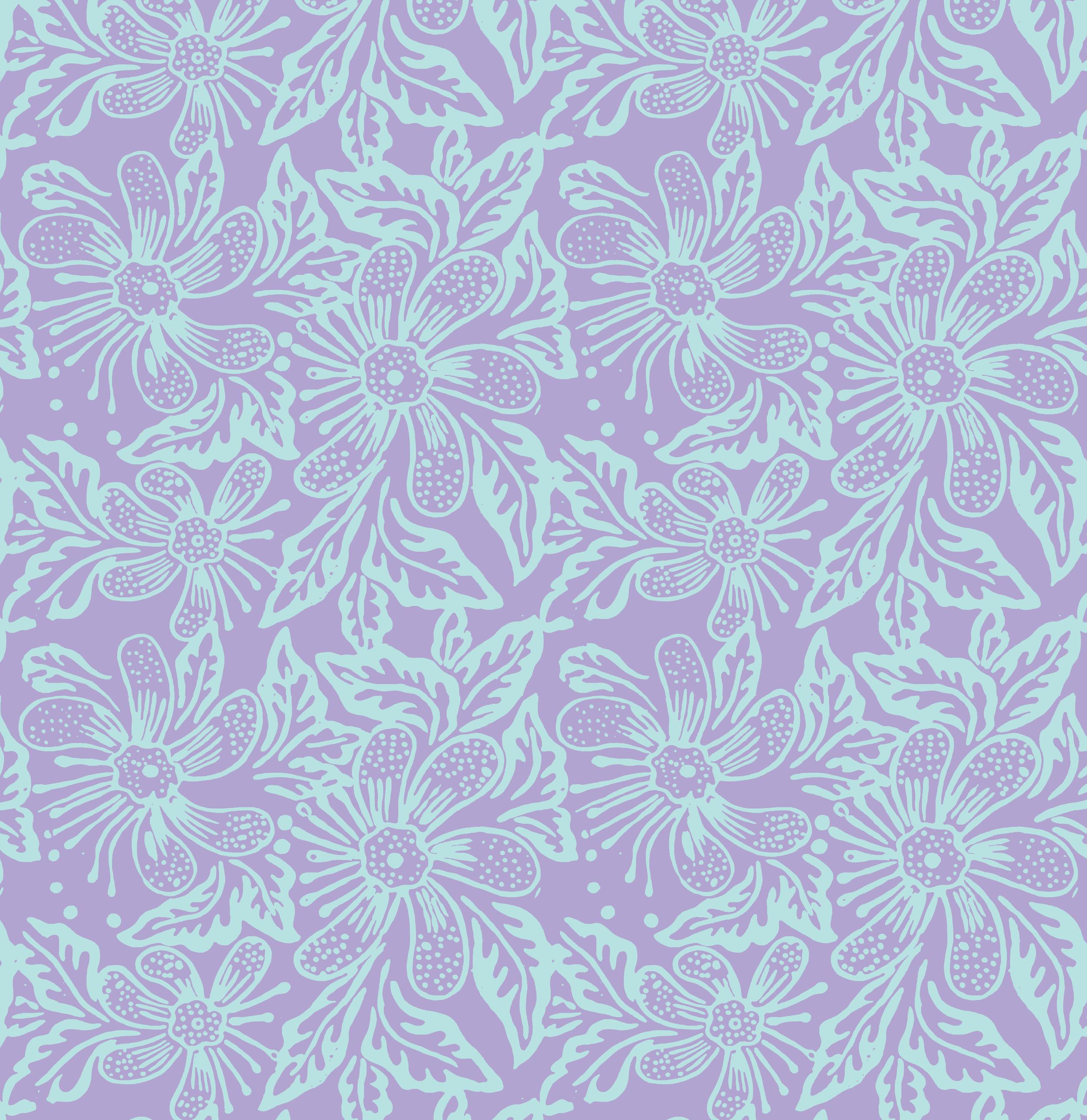 Three Islands R16 & SP16 Batik Floral Print