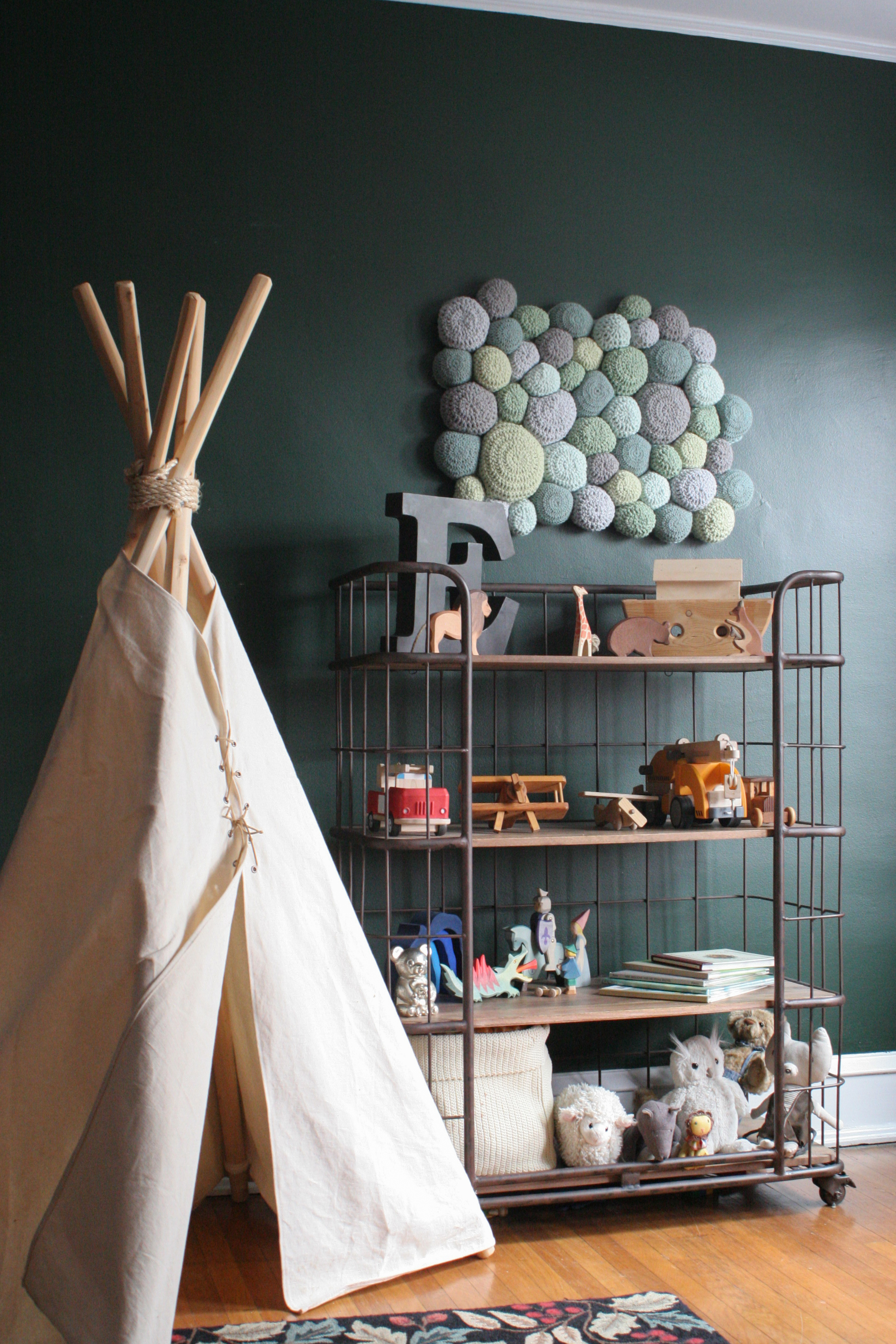 Sustainable Sheepskin as Wall Decor in Children's Room