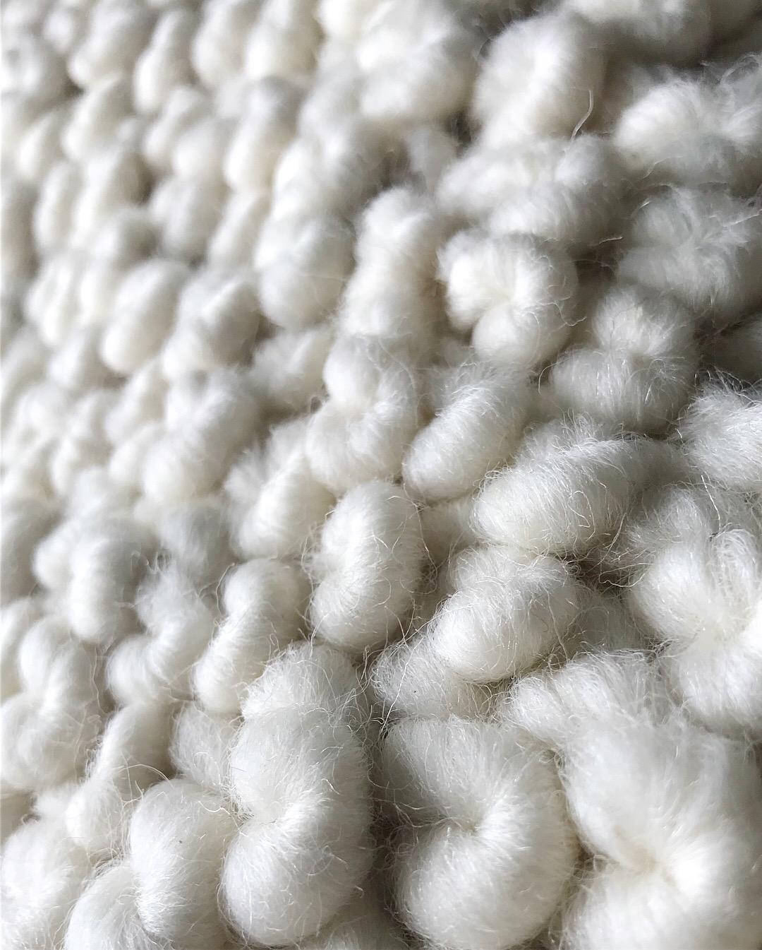 Custom Suri Alpaca, detail of texture
