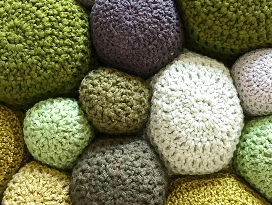 Detail of Custom Moss Green Sustainable Sheepskin