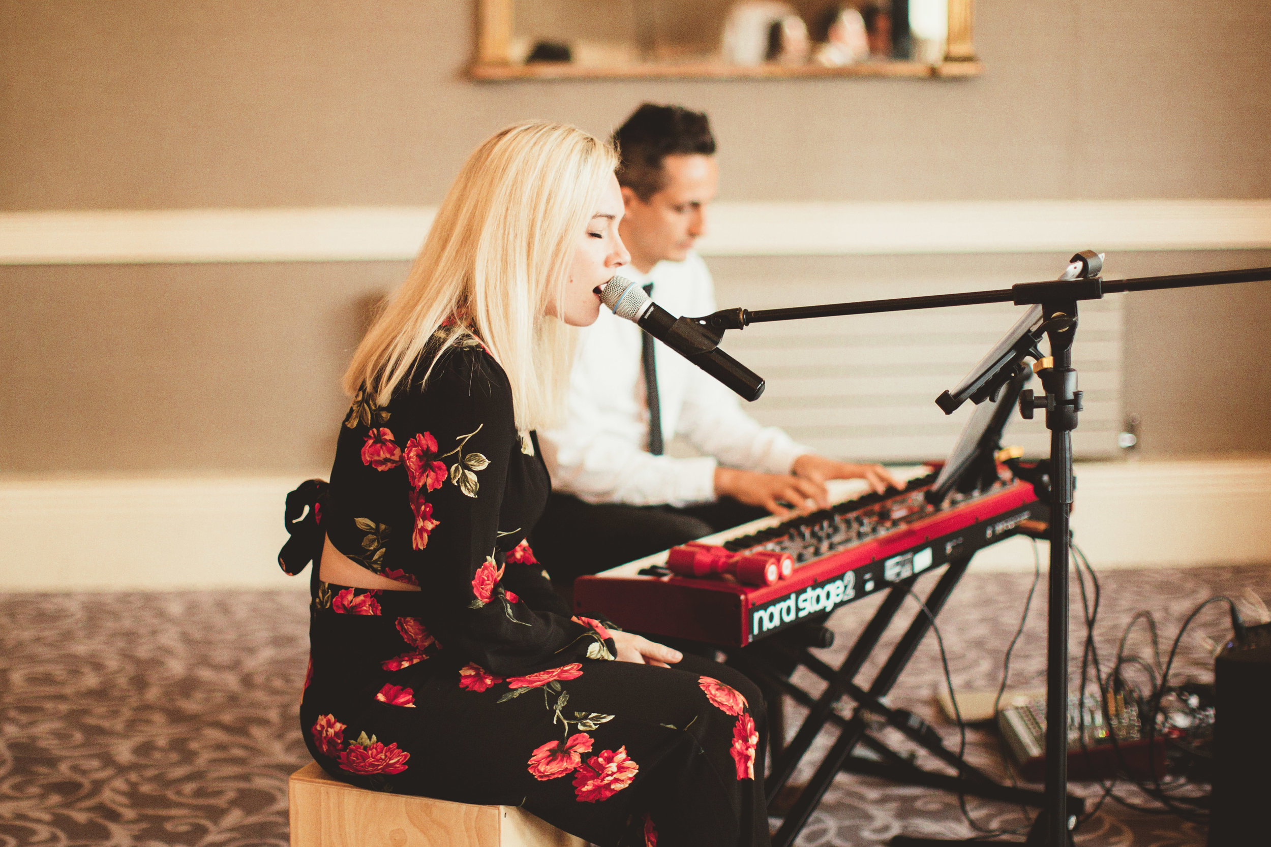 Music by Kate and Dave photo by  Mary Anne Weddings