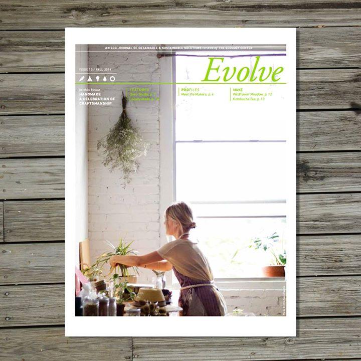 Evolve Issue 10: The Ecology Center. Killscrow as a contributor. Handmade: A Maker's Market