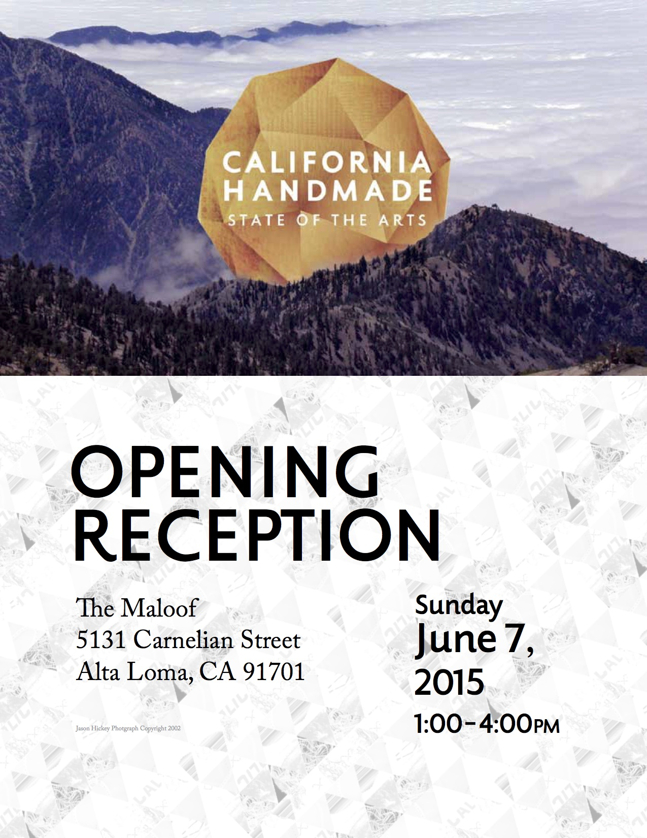 Killscrow: participating artist in California Handmade: State of the Arts at the Maloof Foundation