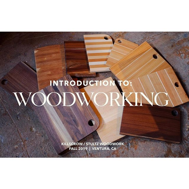 Planning on a November Introduction to Woodworking class in early November along with my shopmate @jeffstultz at our shop in Ventura, Ca.  We will take you through the process of making a cutting board from raw wood to finished product.  It seems simple but the order of operations and skills are the same whether your making a cutting board or crafting a piece of furniture.  This will be a full day course with a class size of 8 people.  More details to come but please dm if your interested or have any questions. Cost will be 200 including all materials and complimentary coffee and baked goods.