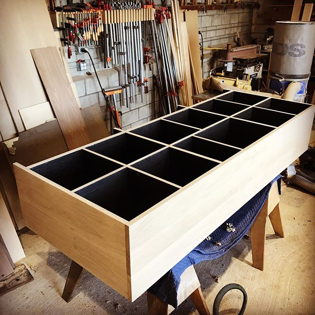Big, custom, soon to be all black Vinyl Cab nearing completion. There is something nice about the contrast though right?