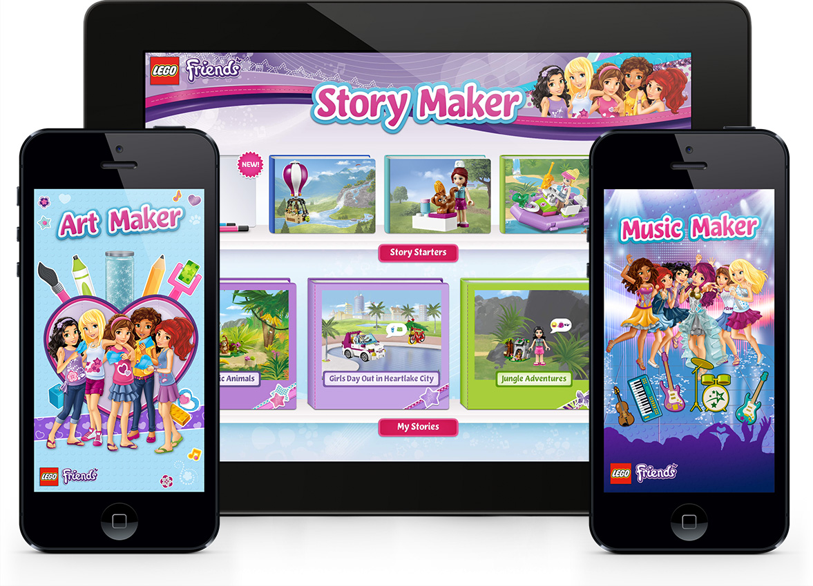 Art Maker, Story Maker and Music Maker for iOS & Android