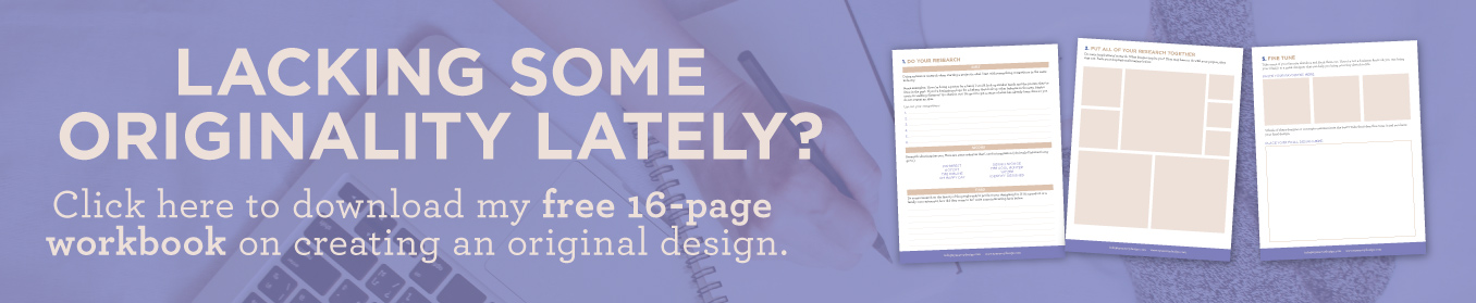 5 STEPS TO CREATING A GREAT ORIGINAL DESIGN | EyeSavvy Design | Kiki Bakowski | Branding, Design, Creative Inspiration, Originality, Free Workbook, Creative Juices, #beoriginal #originalidea #freeworkbook #graphicdesign #inspiration #originalityiskey #originality  #gooddesign #branding #branddesign #branding101