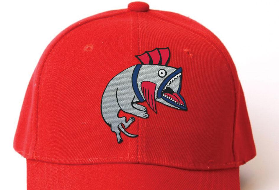 Minor League Baseball's Portland SeaDogs away uniform logo.