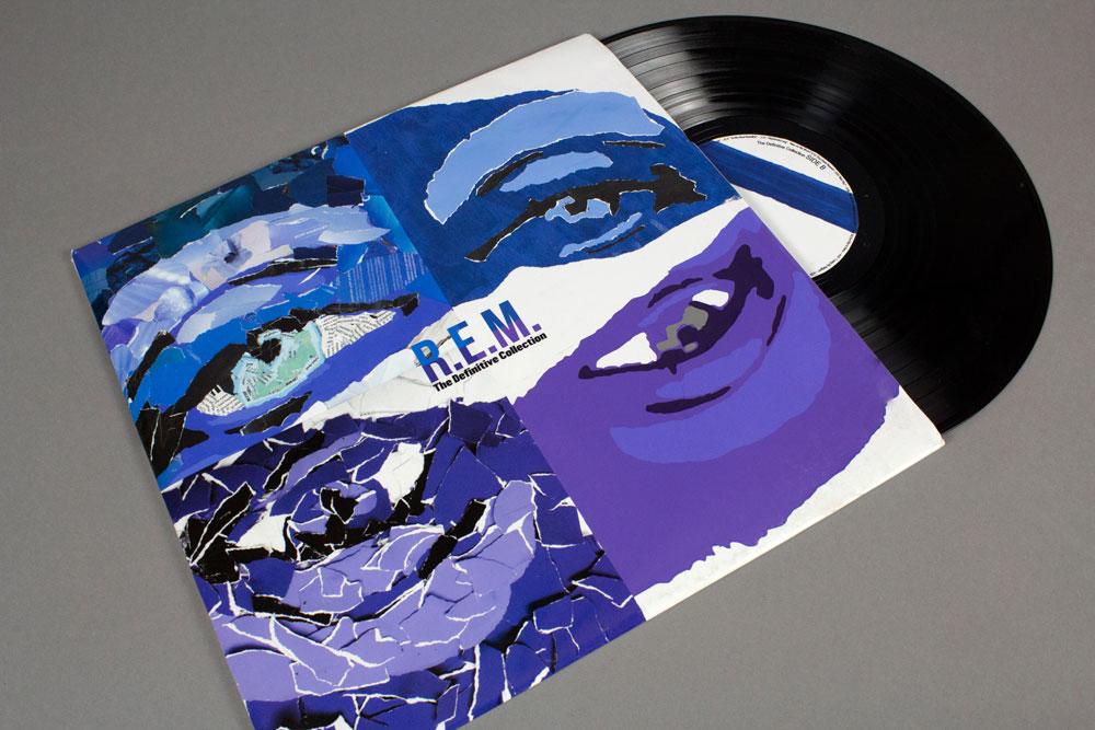 Album cover for REM