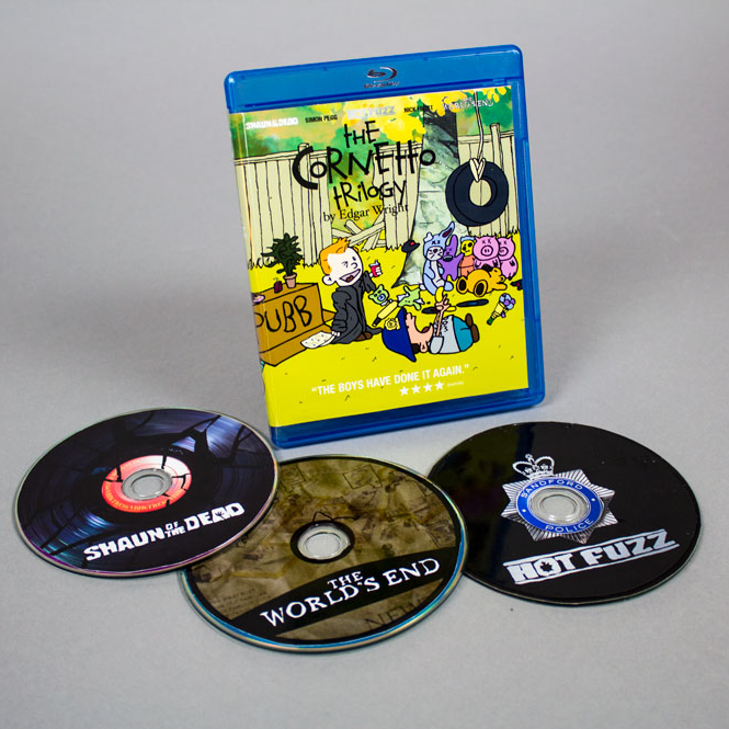 Click to view the Cornetto Trilogy Calvin and Hobbs themed dvd box set.