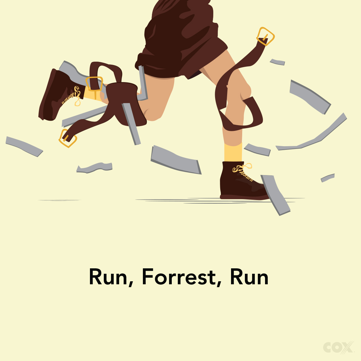 COX Forrest Gump ad
