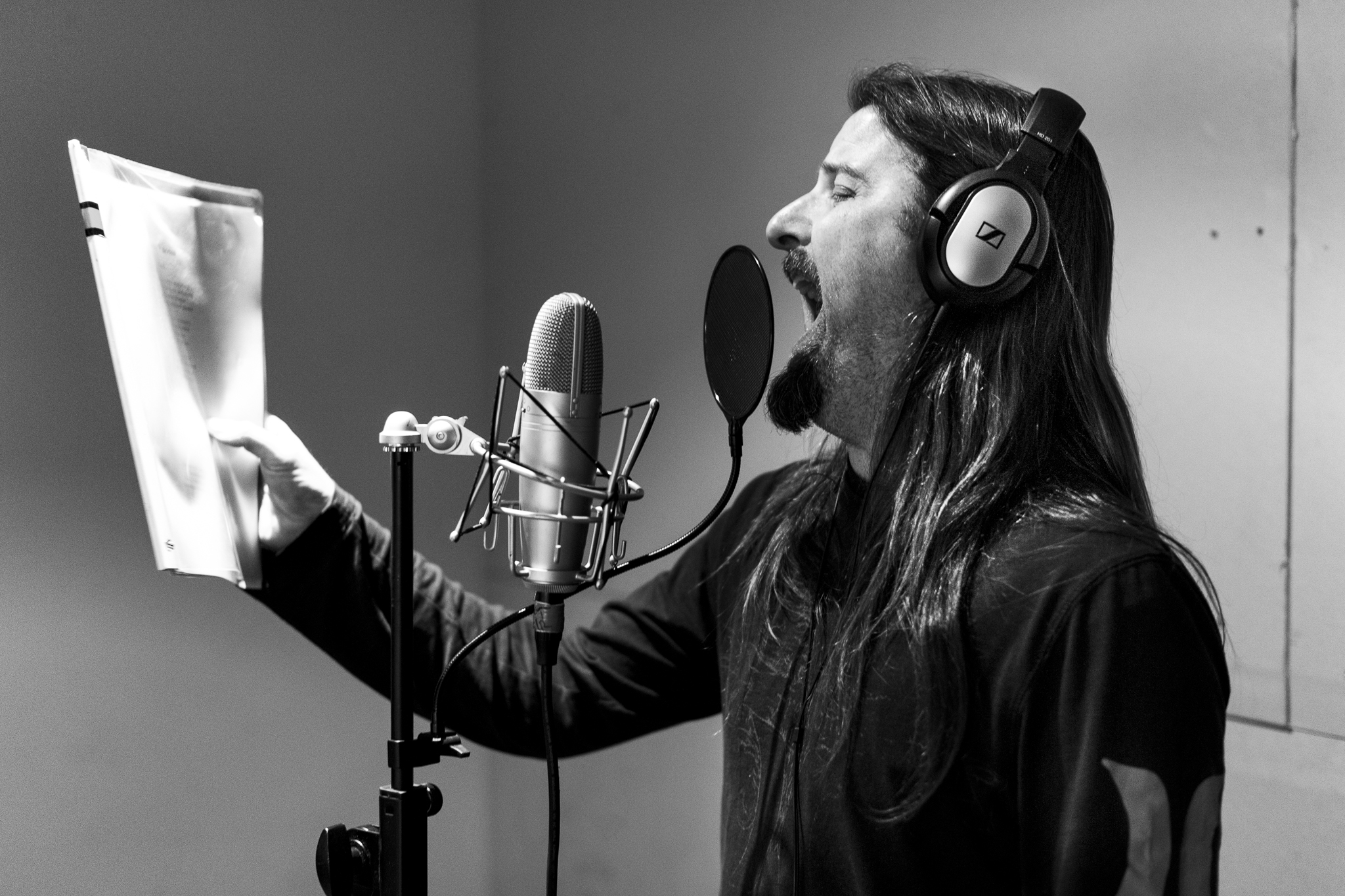 "At ""The Lab"", Tim records vocals for a new song, ""Proxy Bomb"".