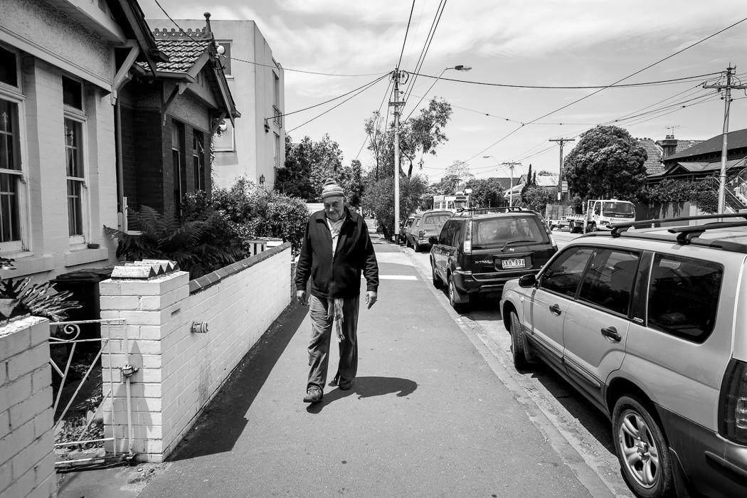 Steven - A Homeless Man Living in St Kilda