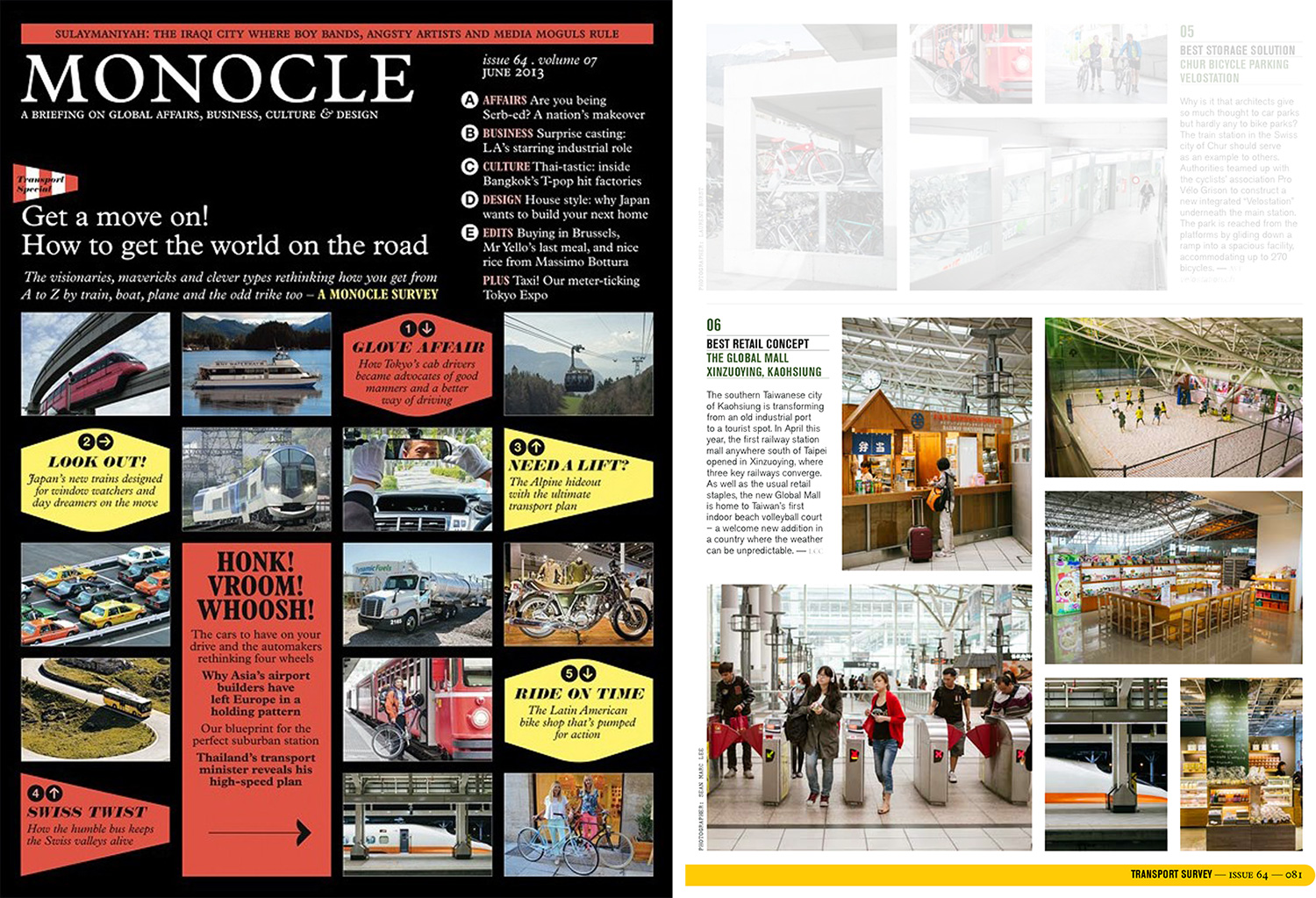 Monocle Transport June 2013