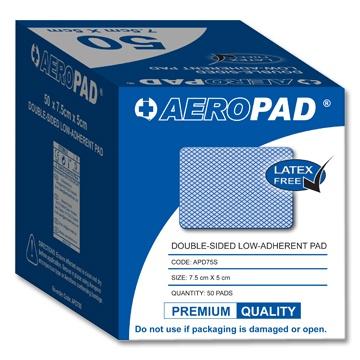 Aeropad Premium Quality Low Adherent Pads (Latex Free)