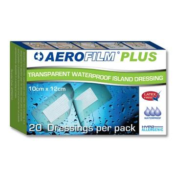 Aerofilm Plus Waterproof Island Dressings (Latex Free)