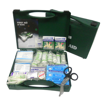 BS 8599-1 Compliant Workplace First Aid Kits (Standard and Travel)