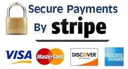 Payments can be made at our secure checkout. Stripeprovide a secure and safe way of making and accepting payment on the Internet.Stripe is certified to PCI Service Provider Level 1, which is the most stringent level of certification.