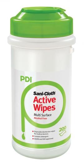 PDI Sani Cloth Active Alcohol Free Wipes