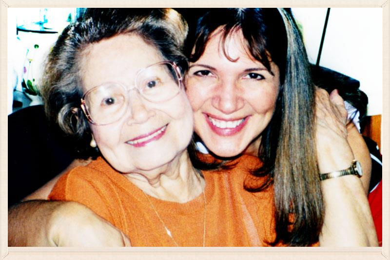 Rosa and her mother Renee´.