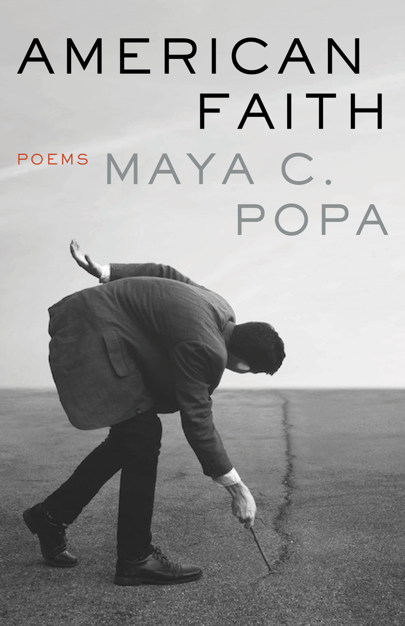 """-  American Faith begins with its manifestation in our country: a destructive administration, a history of cruelty and extermination, and a love of firearms. A suite of poems precisely imagines the consequences: a series of """"cancellations""""―of government, bees, the color wheel, the return to nature, and the end of the world. The violence naturally extends to the personal. The speaker's Romanian grandfather keeps wild dogs in case a man tries to steal his daughters. And what for some is routine can feel like an assault: a TSA agent wipes down a bra tucked in a traveler's suitcase, adding, """"prettiest terrorist I've seen all day."""" Tentatively, the title poem casts light on the unexplored future, a solution that includes faith: """"…the days, impatient, fresh beasts, appeal to me―/ You are here now. You must believe in something."""""""