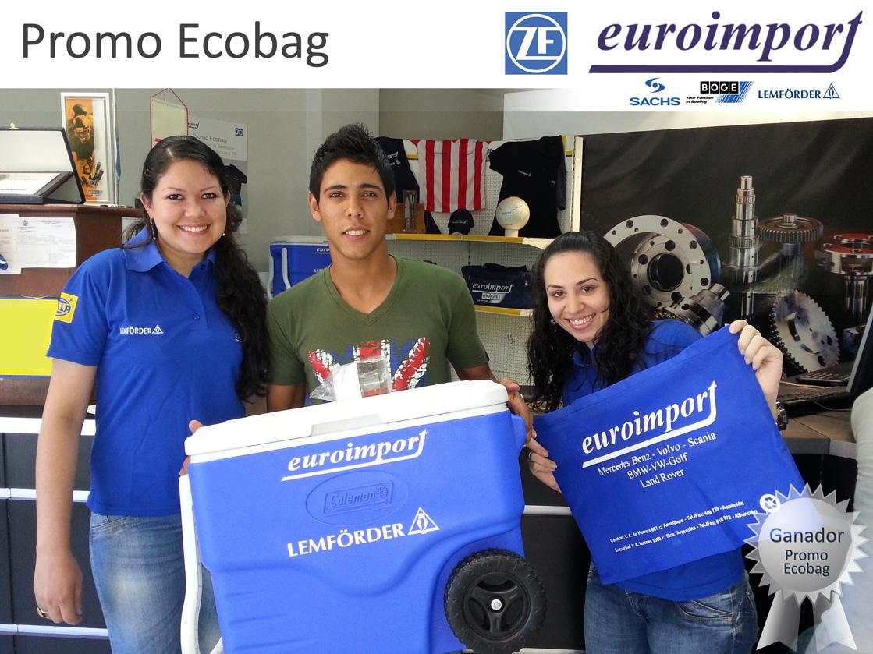 Primer Ganador de la Promo Ecobag
