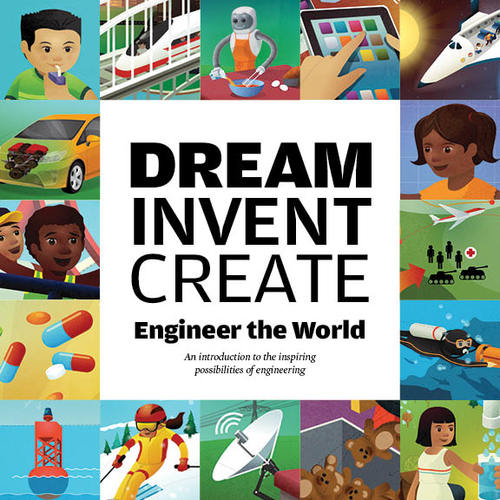Our first book has helped 10,000's of kids understand what engineering is all about.