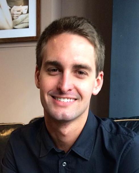 Snapchat founder, Evan Spiegel